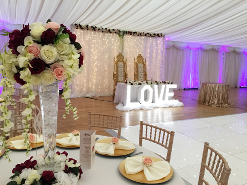 elegant decoration, seating arrangement