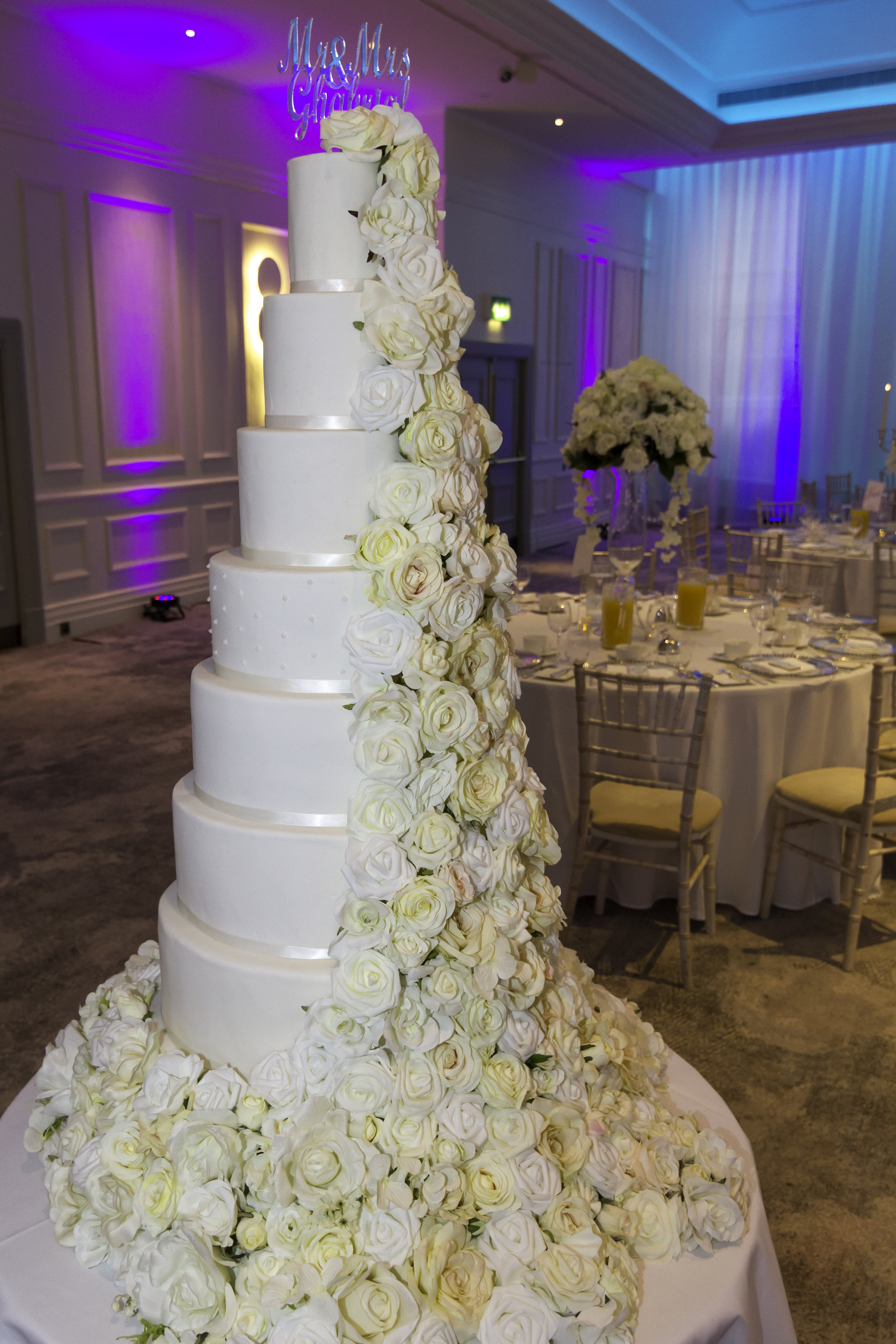 Large wedding cake, Wedding planner in kent