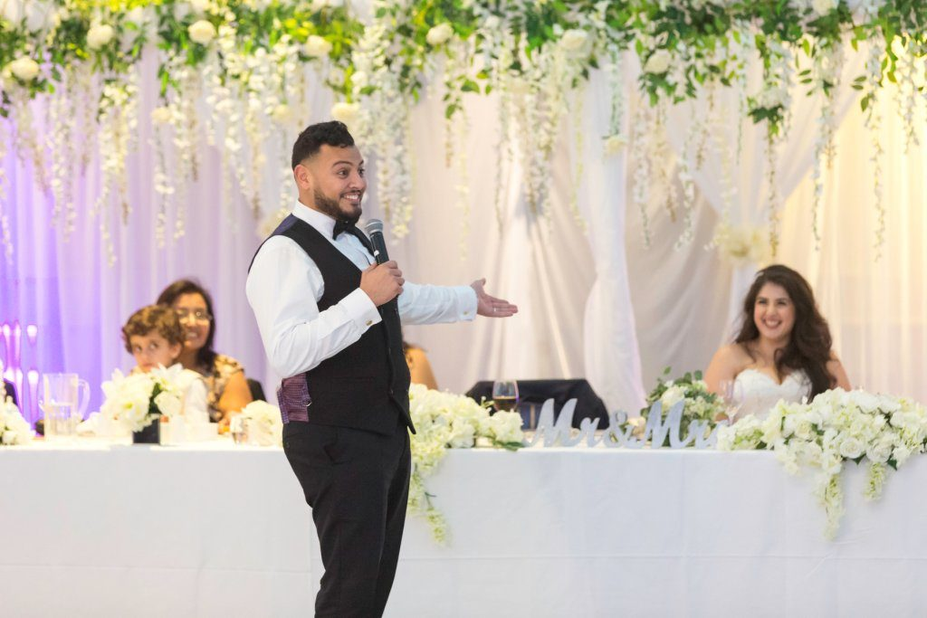 The Groom Speech, Weddings at Events By Keisha, Bromley, Kent