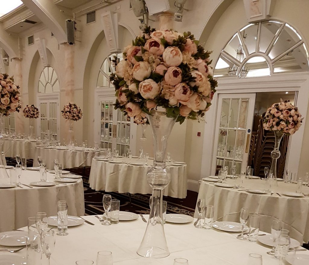Flower Centrepiece for weddings In Kent