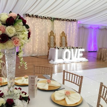 Wedding Lightup Love Sign For Weddings In Kent