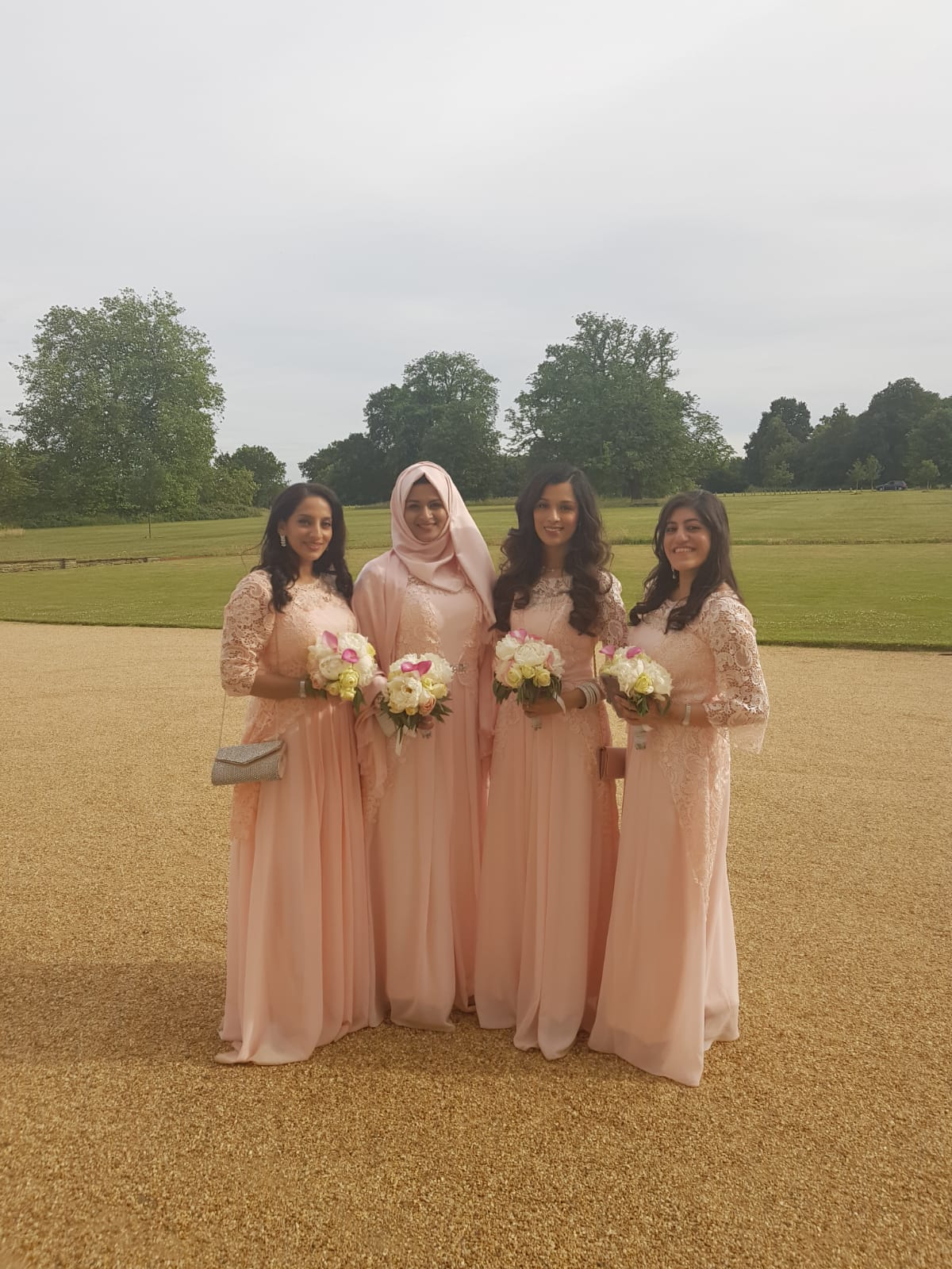 Bridesmaids, Wedding In Kent