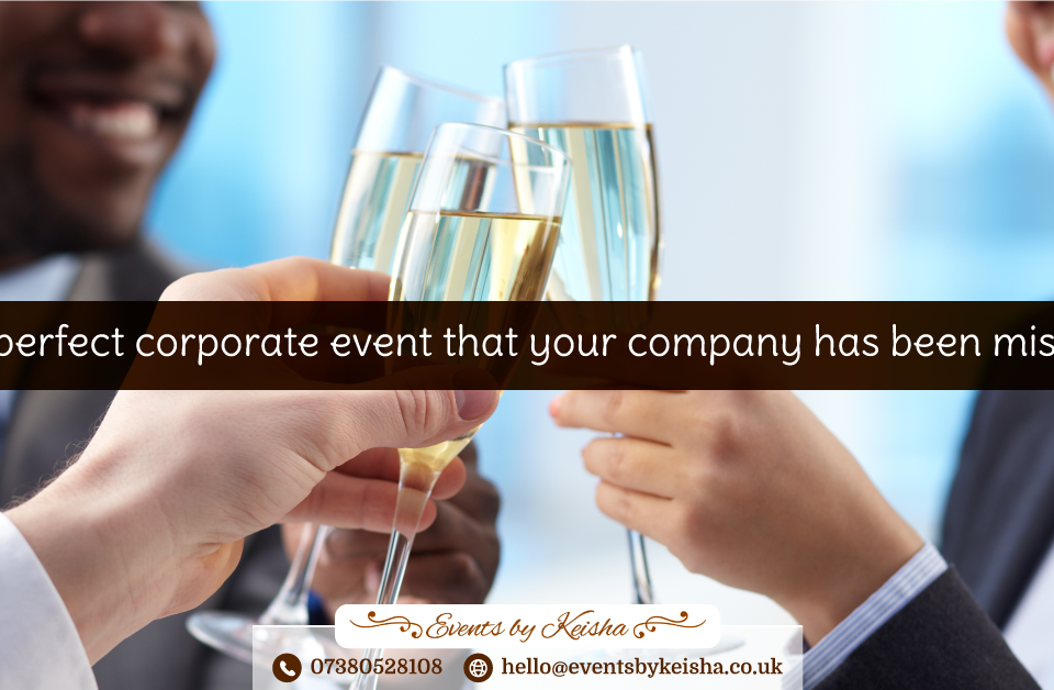 Corporate Events in Kent and London