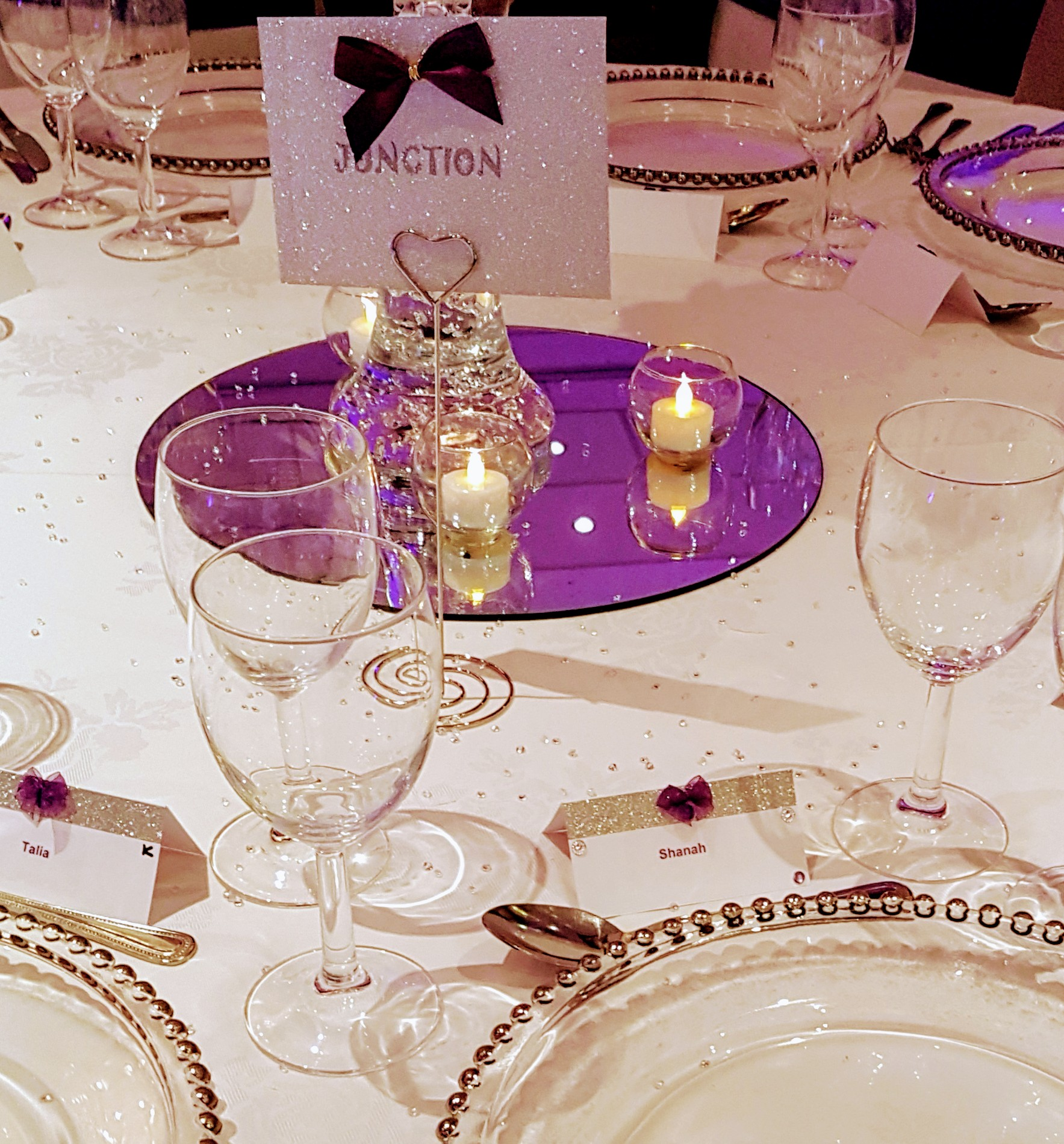 Table centrepieces for weddings in kent and london