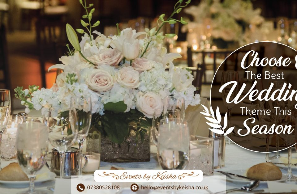 wedding theme ideas in kent and london