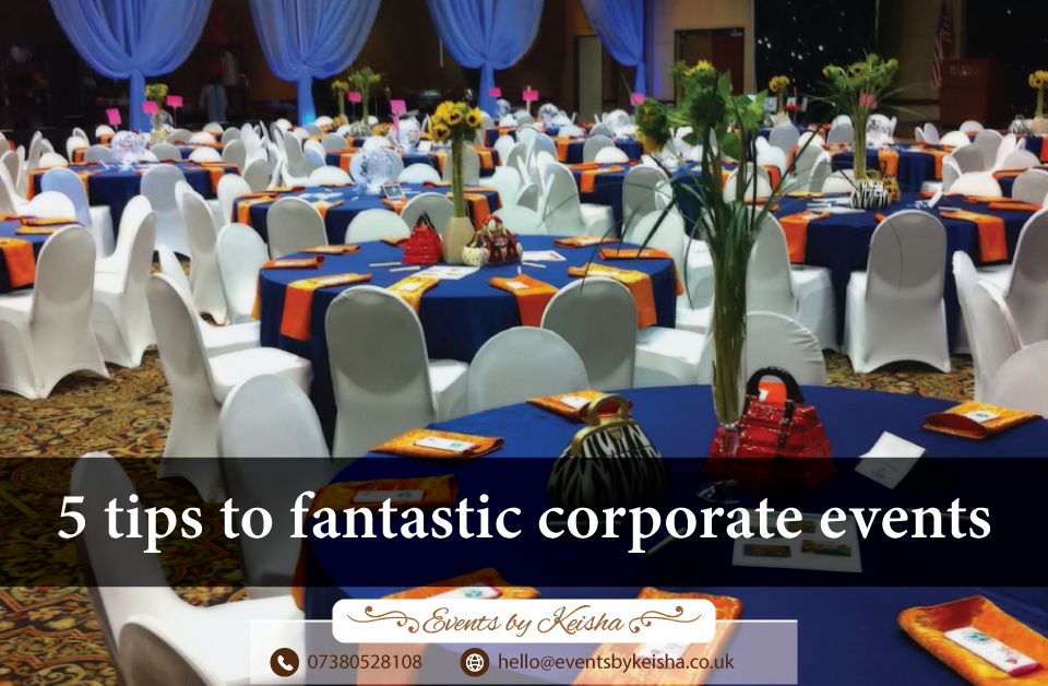 Fantastic corporate events in kent