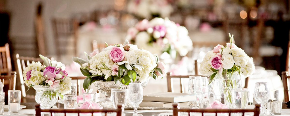 Wedding table decorations in Bromley, Kent