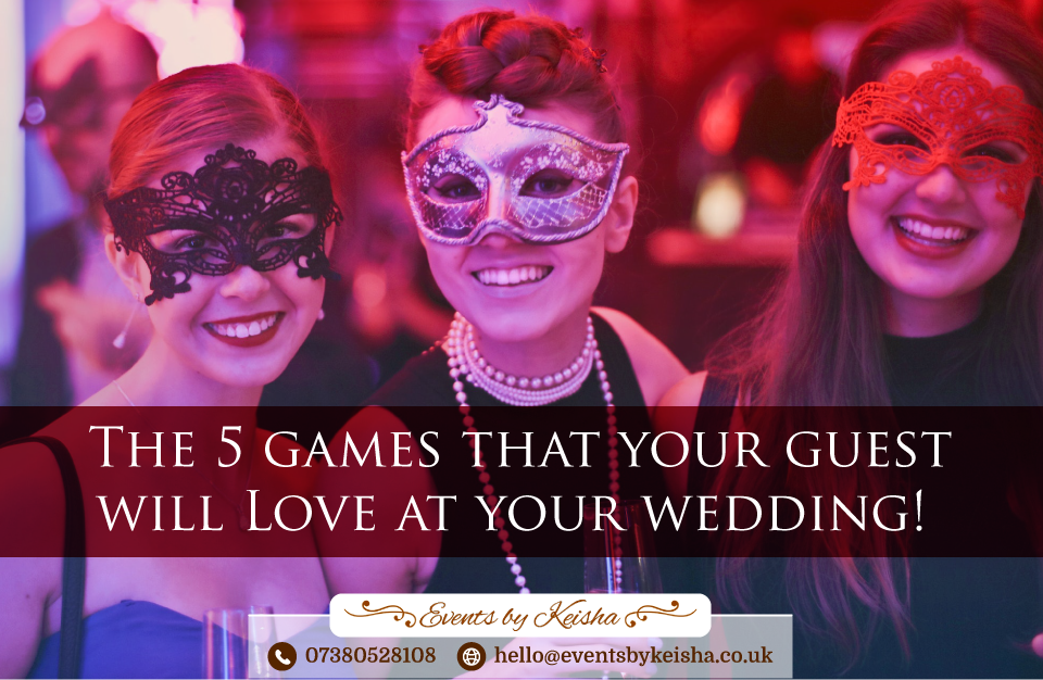 Wedding games ideas for guests In Kent